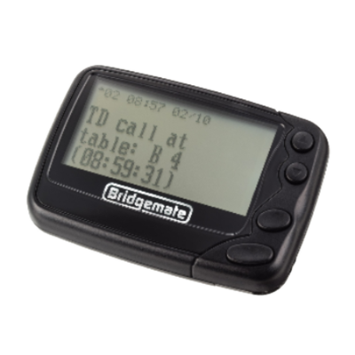 bridgemate pager bridgemate